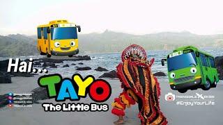 """Gambar cover [ Story Wa #2 ] """" HAI TAYO """", Lagu Jaranan """"Hai Tayo The Little Bus"""" Solah Barong #HAITAYO #BARONGAN"""