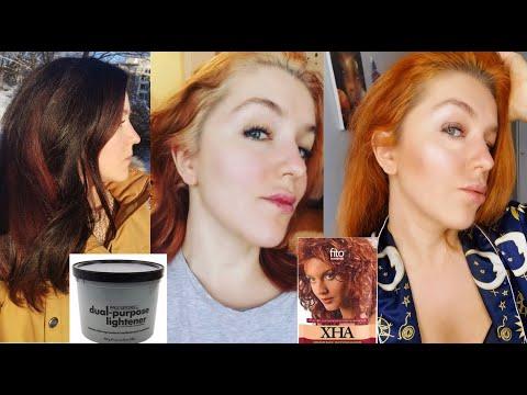 Покраска осветленных порошком волос Хной - Хна для осветленных волос