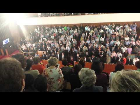 Death of Mandela Prayers By South African Jewish Community