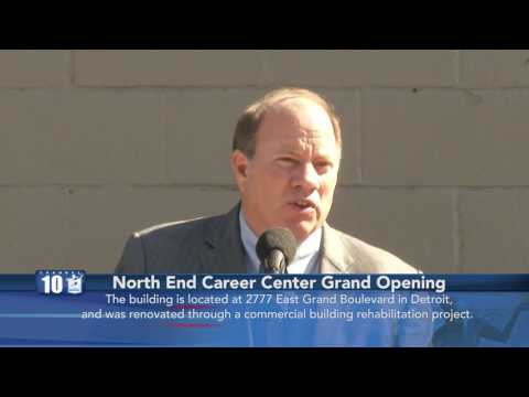 North End Career Center Grand Opening