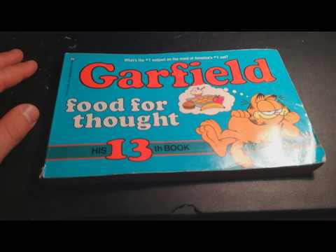 Limited Edition Garfield Comic book review
