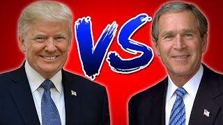 Trump vs. Bush: Who was/is Worse?
