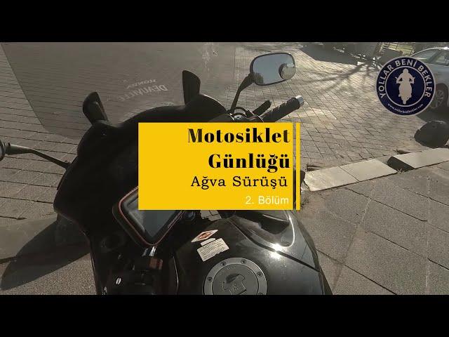 Motosiklet Günlüğü // Ağva - İstanbul Sürüşü - 2. Bölüm // Honda NT700V Deauville