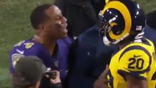 Jalen Ramsey Had To Be HELD BACK From Fighting Marcus Peters In Tunnel After HEATED MNF Game