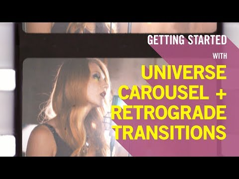 Getting Started With Retrograde Transition And Carousel Transition