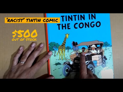 """UNBOXING The Racist """"Tintin in the Congo"""" (banned in some countries)"""