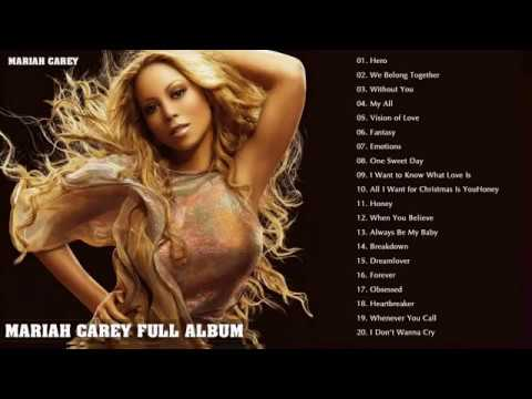 Mariah Carey Greatest Hits[Full Album]  Best Songs Of Mariah Carey Nonstop Playlist
