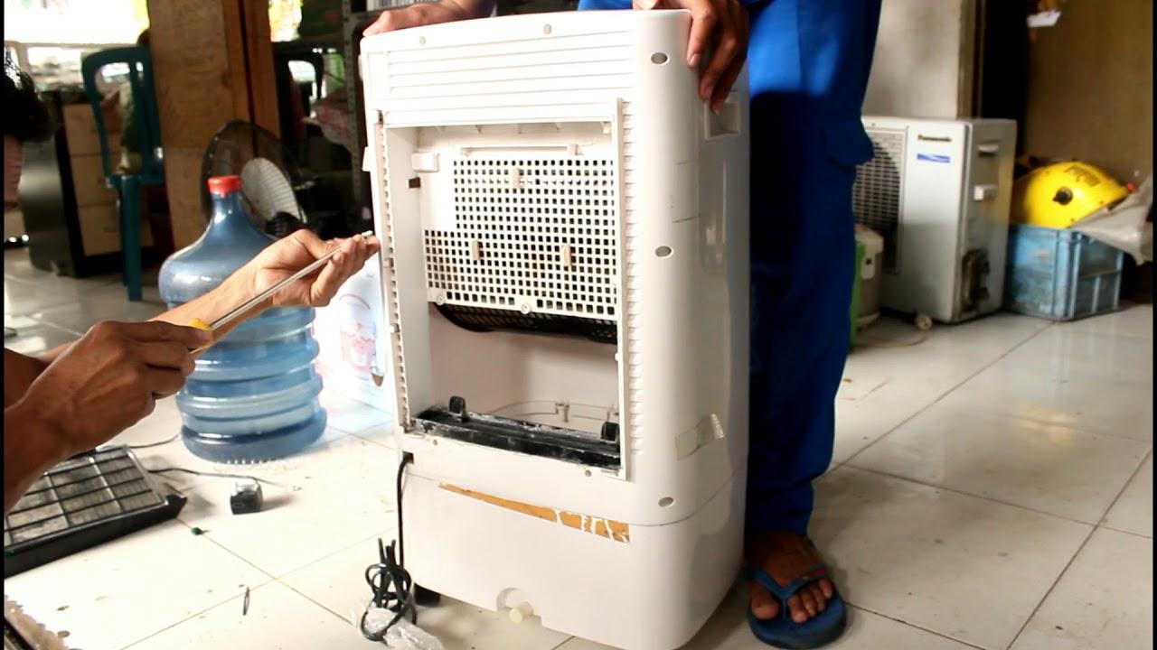 Tutorial Cara Memperbaiki Air Cooler Tidak Dingin Youtube