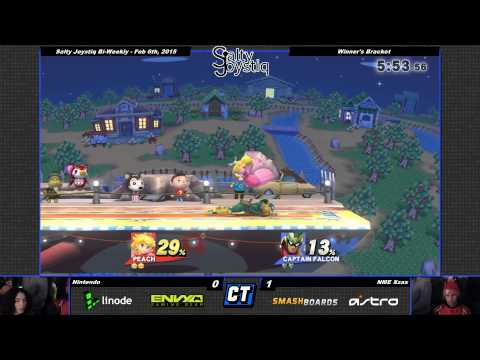 Salty Joystiq - NME Xzax vs Nentindo - Smash Wii U