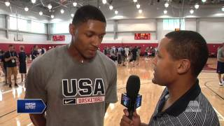 Courtside Report - Bradley Beal After Day 4 Usab 7/31/14