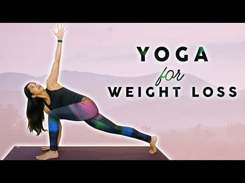 Yoga For Weight Loss Flexibility Day 1 Workout Fat Burning 20 Minute Beginners Class Youtube