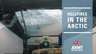 Hellfire in the Arctic | Apache Helicopter | British Army