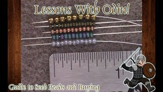 Guide to Seed Beads: Sizes, Brands, And Buying - Beginner Lessons With Odin