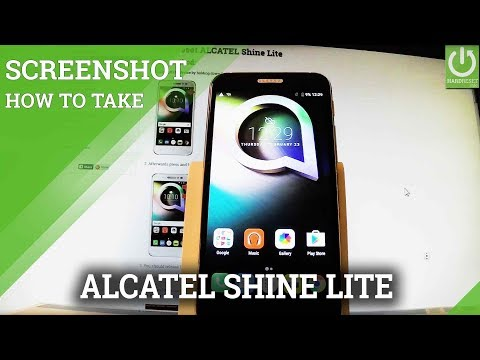 How to take screenshot in ALCATEL TCL Xess - HardReset info