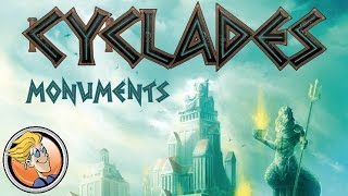 Cyclades: Monuments — game overview at SPIEL 2016 by Matagot