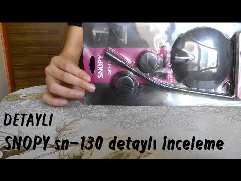 Snopy sn-130 mikrofon ses ayarı ( mükkemel oldu ) youtube.