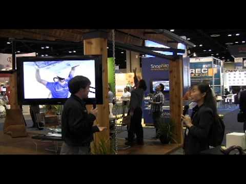 Lumos' latest  PowerPort Solar Carport at Solar Power International 2012, Orlando, FL