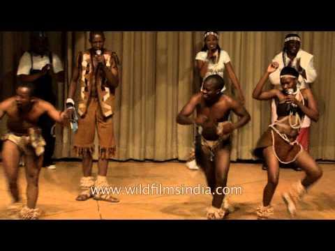 Botswana rhythm and dance: where Paul Simon learned!