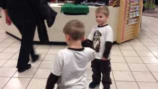 When Twins Get Bored with Long Lines