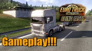 Euro Truck 2 - DLC Going East Gameplay Comentada [PT] + G27
