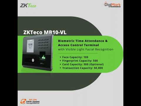 ZKTeco High-End Face Recognition Devices | Digi-Mark Solution