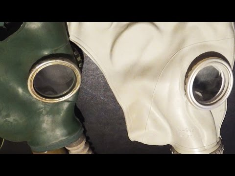 GP4 VS GP5 Gas Mask
