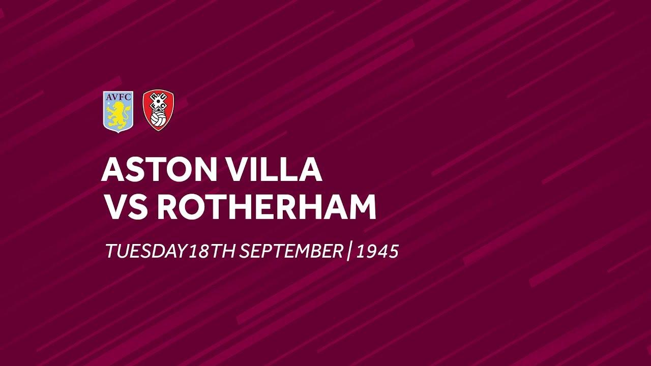 Aston Villa 2 0 Rotherham United Extended Highlights