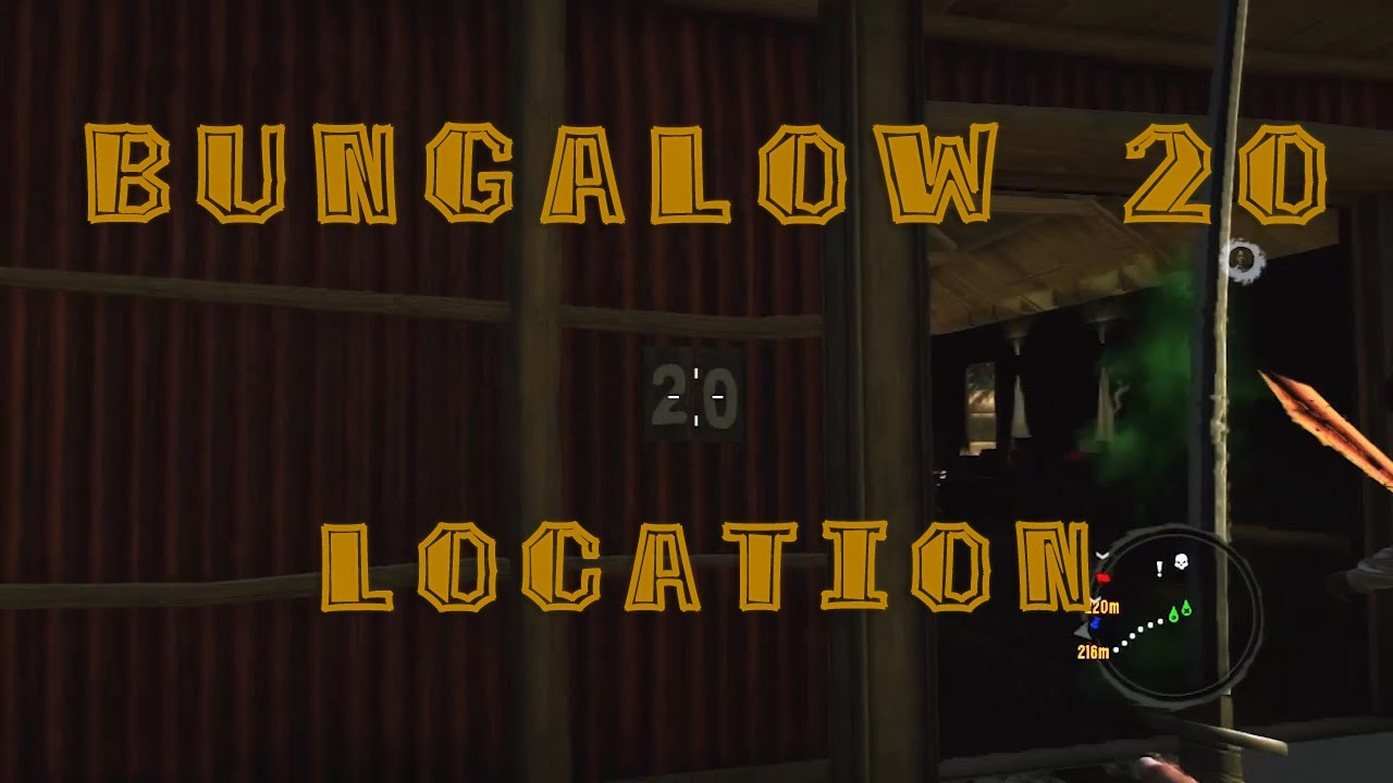 Dead Island Bungalow 20 Location Youtube