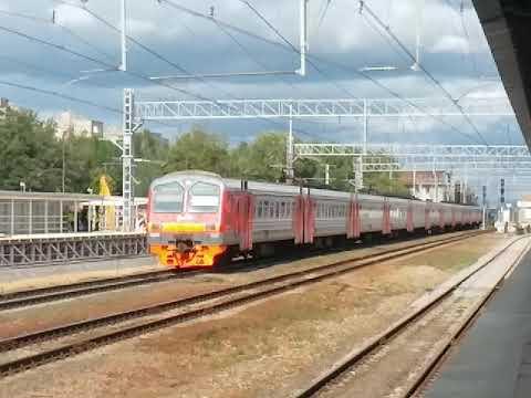 ЭД4М-0321 На станции Реутово
