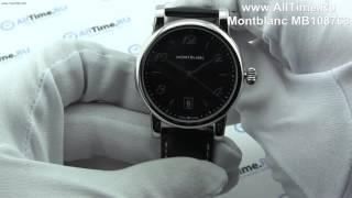 Обзор. Мужские наручные часы Montblanc MB108763