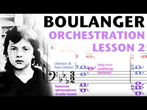 Orchestration Lesson: Lili Boulanger, Part 2