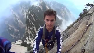 Impresionante vídeo de el camino de la muerte China