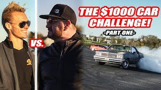 AN EPIC RIVALRY IS BORN! *RANDY SAVAGE VS JIMBO* WHO WILL WIN? $1000 CAR CHALLENGE PART 1