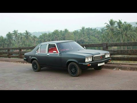 1991 well maintained 2 0 dlx hindustan motors contessa with spoiler rh youtube com Hindustan Motors Contessa Black Car