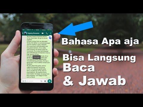 TRIK Baca & Balas PESAN BAHASA ASING dengan Mudah & Cepat - Sangat FAEDAH !!!