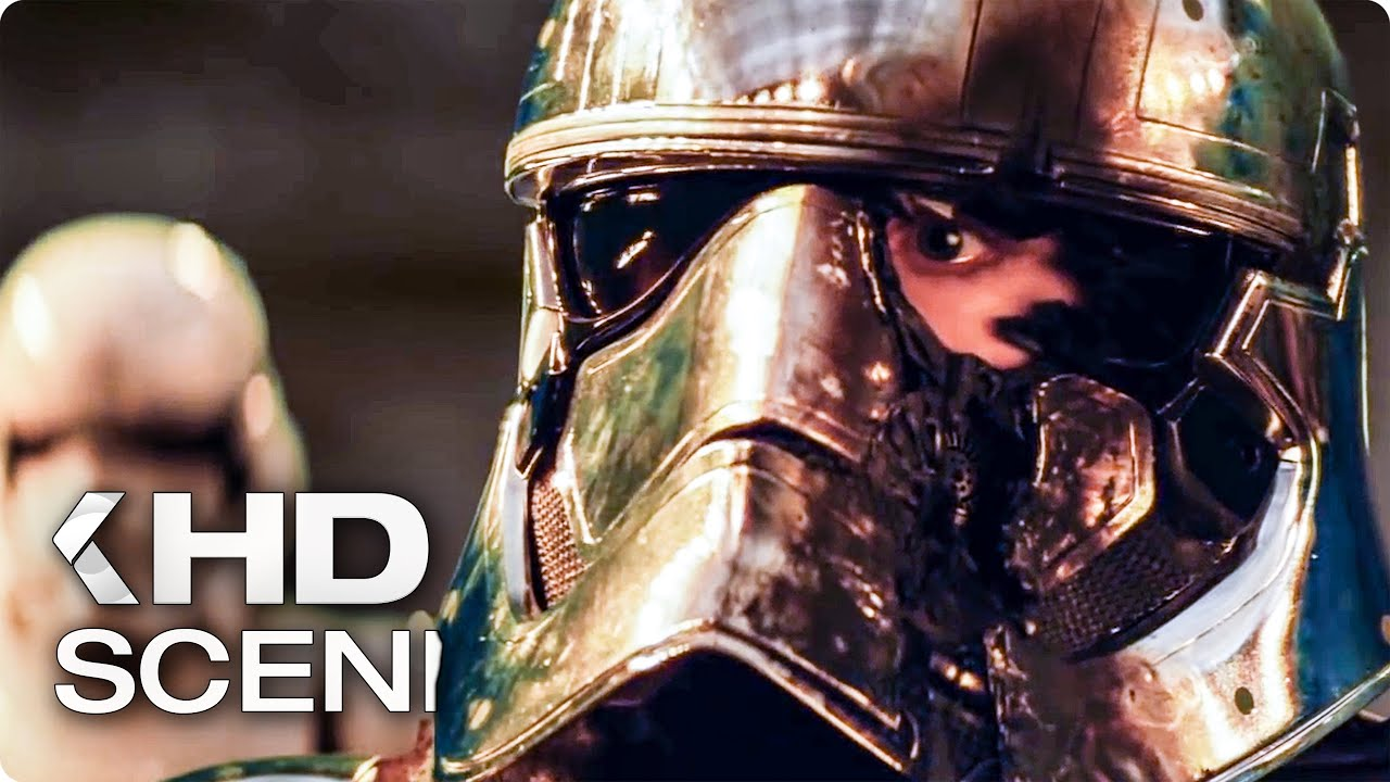 STAR WARS 8: The Last Jedi Deleted Scene – Alternate Phasma Death (2017)