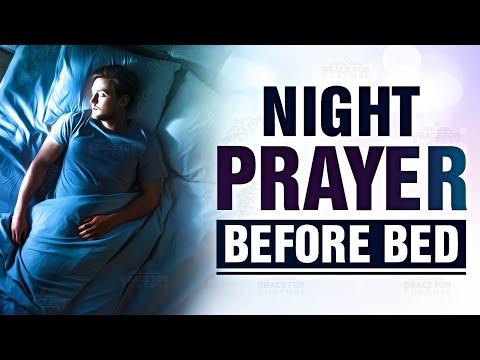 A Beautiful Night Prayer Before Bedtime | Evening Prayer Before You Sleep ᴴᴰ