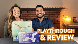 Wingspan with European Expansion - Playthrough \u0026 Review