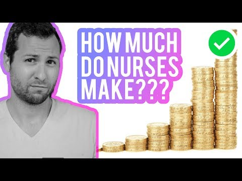 How Much Money Do Nurses Make? // Tips To Increase Your RN Salary $$$