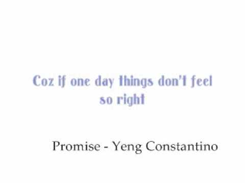 Yeng Constantino - Promise