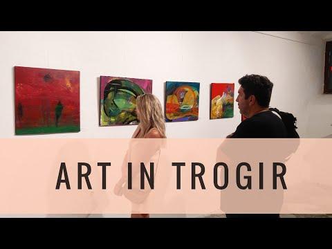 Alisa Teletović - Artist from Sarajevo  | Čiovo, Croatia Vlog