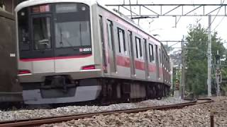 東急東横線5050系4000番台4101F菊名カーブ通過