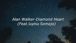 Alan Walker-Diamond Heart (letra ingles-español)