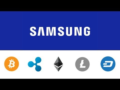 Samsung to Accept Crypto Payments - CopPay Partnership - BTC XRP ETH LTC DASH Steem