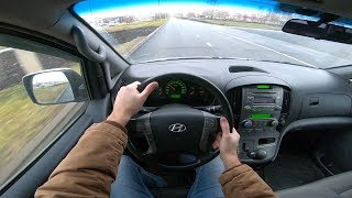 2008 Hyundai H-1 (Grand Starex) POV Test Drive