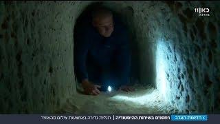 הפתעה עתיקה: רחפנים חשפו מקדש בן 2,200 שנה בשטח אש של צה