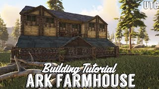 Ragnarok Farmhouse :: Ark Building Tutorial (No Mods) :: How to Build a Large Wooden House