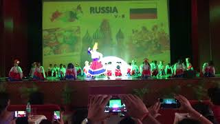 Russian Dance Kalinka by School kids Dance Competition