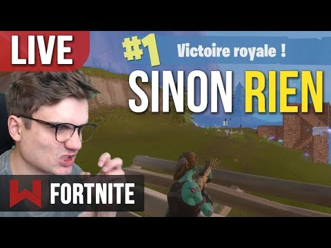 🔴 LIVE : 10 WINS EN 11 PARTIES sur Fortnite Battle Royale !