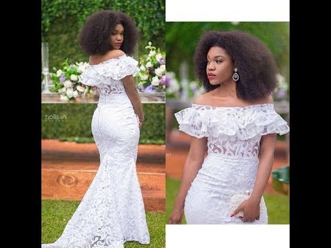Latest African Print Dresses, Ankara Styles, Lace And Aso Ebi Fashion 2018